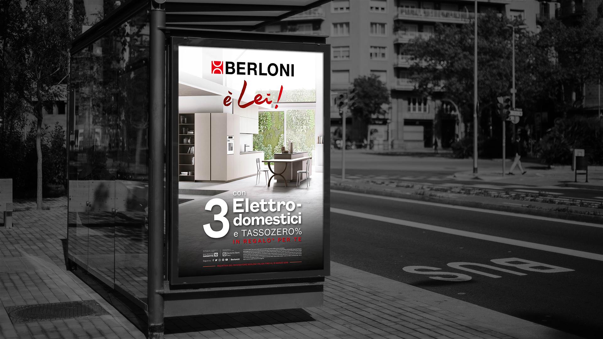 Berloni Campagna Promo 2018 Poster