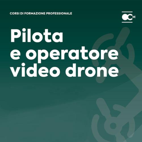corso pilota operatore droni 2018